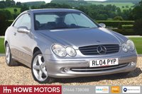 USED 2004 04 MERCEDES-BENZ CLK 3.2 CLK320 AVANTGARDE 2d AUTO 218 BHP INCREDIBLE 28,000 MLS ONE OWNER FROM NEW