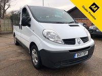 2011 RENAULT TRAFIC 2.0 SL27 DCI 5dr 9 Seater £4900.00
