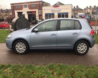 USED 2011 11 VOLKSWAGEN GOLF 1.6 S TDI 5d 89 BHP LOW ROAD TAX £30 YEARLY: