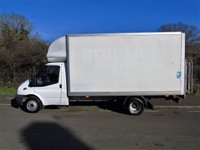 USED 2012 12 FORD TRANSIT T350 2.2TDCI 124 BHP LWB 13FT 6IN LUTON VAN WITH TAILLIFT +500KG TAILLIFT+ 1 OWNER+