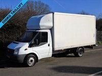 2012 FORD TRANSIT T350 2.2TDCI 124 BHP LWB 13FT 6IN LUTON VAN WITH TAILLIFT £6950.00