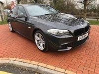 2011 BMW 5 SERIES 2.0 520D M SPORT 4d AUTO 181 BHP £8990.00
