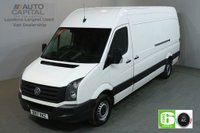 USED 2017 17 VOLKSWAGEN CRAFTER 2.0 CR35 TDI 138 BHP LWB EURO 6 START STOP AIR CON SERVICE HISTORY SPARE KEY