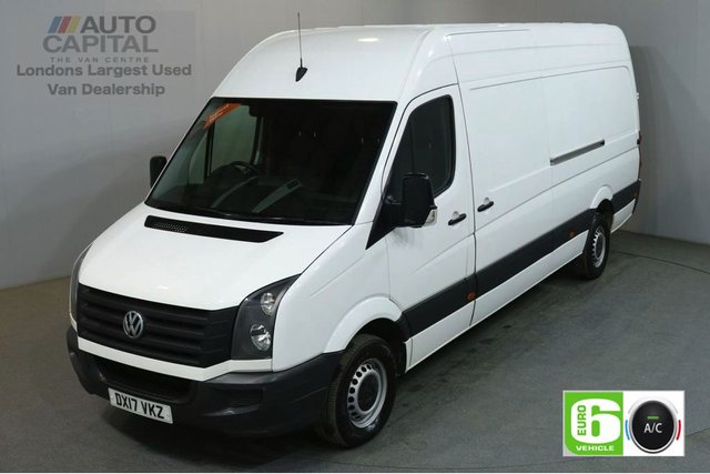 2017 17 VOLKSWAGEN CRAFTER 2.0 CR35 TDI 138 BHP LWB EURO 6 START STOP AIR CON SERVICE HISTORY SPARE KEY