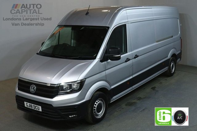 2018 18 VOLKSWAGEN CRAFTER 2.0 CR35 TDI 140 BHP TRENDLINE LWB H/ROOF AIR CON EURO 6 VAN AIR CONDITIONING EURO 6