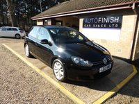 USED 2012 12 VOLKSWAGEN GOLF 1.6 MATCH TDI BLUEMOTION TECHNOLOGY 5d 103 BHP * 2 KEEPERS FROM NEW * £20 ROAD TAX * FULL SERVICE HISTORY *