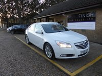 USED 2012 61 VAUXHALL INSIGNIA 1.8 EXCLUSIV 5d 138 BHP * 1 PRIVATE KEEPER FROM NEW * FULL VAUXHALL SERVICE HISTORY WITH 6 STAMPS * 2 KEYS *