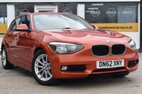 USED 2012 62 BMW 1 SERIES 1.6 116D EFFICIENTDYNAMICS 5d 114 BHP