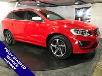 USED 2014 64 VOLVO XC60 2.0 D4 R-DESIGN 5d 178 BHP Only £30 a year road tax  :   Bluetooth   :  DAB Radio   :   R-Design contrasting leather upholstery + steering wheel   :   Front + rear parking sensors   :   Fully stamped service history