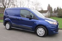 USED 2014 64 FORD TRANSIT CONNECT 1.6 TDCi L1 220 Trend Panel Van 4dr 1 OWNER FROM NEW WITH F.S.H