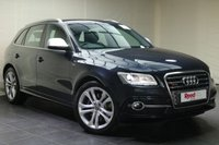 USED 2013 13 AUDI SQ5 3.0 SQ5 TDI QUATTRO 5d AUTO 309 BHP AUDI FSH + LEATHER + 20's + PARKING SENSORS + METALLIC PAINT + BLUETOOTH