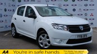 USED 2016 16 DACIA SANDERO 1.1 AMBIANCE 5d 73 BHP ONE OWNER,FULL SERVICE HISTORY