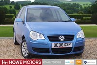 USED 2008 08 VOLKSWAGEN POLO 1.4 SE 5dr 1 OWNER FSH 10 SERVICE STAMPS