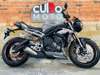 2017 TRIUMPH STREET TRIPLE 765 RS £7990.00