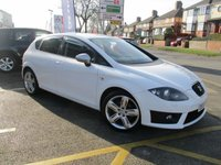 USED 2012 62 SEAT LEON 2.0 CR TDI FR PLUS 5d 168 BHP Large Specification & Full Service History