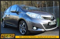 USED 2014 14 TOYOTA YARIS 1.3 VVT-I TREND 5d 99 BHP A ONE LADY OWNER YARIS WITH FULL HISTORY AND REVERSING CAMERA!!!