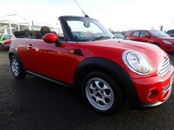 2013 MINI CONVERTIBLE 1.6 COOPER 2d 122 BHP £8495.00