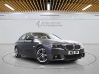 USED 2016 16 BMW 5 SERIES 2.0 520D M SPORT 4d AUTO 188 BHP - EURO 6 -  Well-Maintained by Only 1 Previous Owner With Full Service History - 0% DEPOSIT FINANCE AVAILABLE