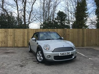 2013 MINI CONVERTIBLE 1.6 ONE 2d 98 BHP £6750.00