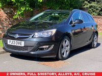 USED 2013 13 VAUXHALL ASTRA 2.0 SRI CDTI 5d AUTO 162 BHP 2 OWNERS, FULL SERVICE HISTORY, 1YR MOT, EXCELLENT CONDITION, ALLOYS, AIR CON, CRUISE, E/WINDOWS, R/LOCKING, FREE  WARRANTY, FINANCE AVAILABLE, HPI CLEAR, PART EXCHANGE WELCOME,