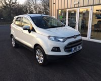 USED 2016 65 FORD ECOSPORT 1.5 ZETEC  THIS VEHICLE IS AT SITE 1 - TO VIEW CALL US ON 01903 892224
