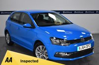 USED 2015 64 VOLKSWAGEN POLO 1.4 SE TDI BLUEMOTION 5d 75 BHP (ONE OWNER - VW SERVICE HISTORY)