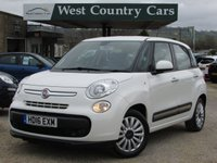 USED 2016 16 FIAT 500L 1.4 POP STAR 5d 95 BHP Only 2 Owners From New