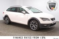 USED 2016 16 SEAT LEON 2.0 X-PERIENCE TDI SE TECHNOLOGY 5DR 150 BHP 4X4 1 OWNER FULL SERVICE HISTORY  FULL SERVICE HISTORY + HALF LEATHER SEATS + SATELLITE NAVIGATION + PARKING SENSOR + BLUETOOTH + CRUISE CONTROL + CLIMATE CONTROL + MULTI FUNCTION WHEEL + RADIO/CD/AUX/USB + 18 INCH ALLOY WHEELS