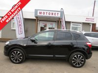 2012 NISSAN QASHQAI 1.6 N-TEC PLUS IS DCIS/S 5DR HATCHBACK 7 SEATER 130 BHP £8888.00