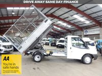 USED 2013 13 FORD TRANSIT 2.2 350 DRW 125 BHP  MWB - CAGE TIPPER '' YOU'RE IN SAFE HANDS  ''  WITH THE AA DEALER PROMISE