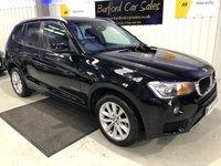 USED 2016 16 BMW X3 2.0 XDRIVE20D SE 5d AUTO 188 BHP