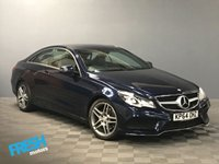 USED 2014 64 MERCEDES-BENZ E CLASS 2.1 E220 CDI AMG SPORT 2d AUTO  * 0% Deposit Finance Available