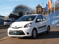 USED 2012 62 TOYOTA AYGO 1.0 VVT-I ICE 5d ONE OWNER ~ £0 ROAD TAX ~ BLUETOOTH ~ AIR CON ~FULL HISTORY