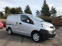 2014 NISSAN NV200 1.5 DCI ACENTA 1d 90 BHP WITH REVERSING CAMERA £6000.00
