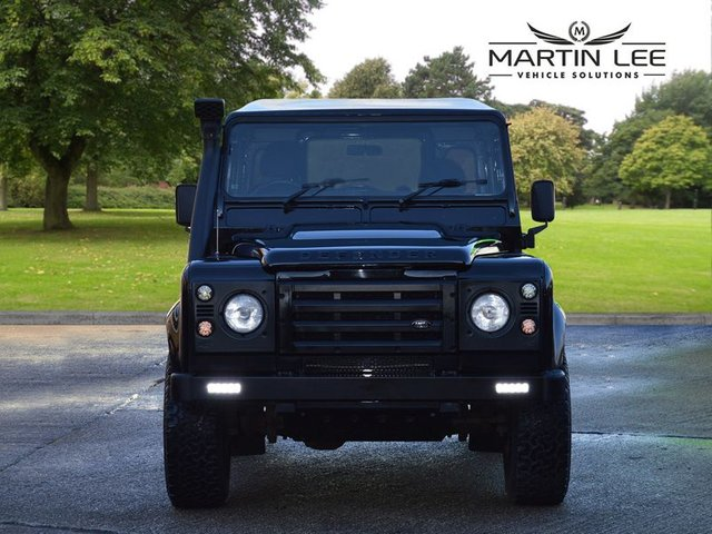 2009 09 LAND ROVER DEFENDER COUNTY HARD TOP