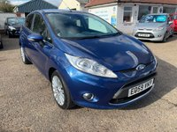 USED 2009 59 FORD FIESTA 1.6 TITANIUM TDCI 5d 89 BHP VOICE COMM / CRUISE CONTROL / FULL SERVICE HISTORY WITH 8 STAMPS IN THE BOOK / ONE OWNER CAR