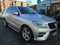 USED 2014 MERCEDES-BENZ M CLASS 3.0 ML350 BLUETEC AMG LINE PREMIUM 5d AUTO 258 BHP PAN ROOF, NAV, HEATED SEATS