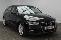 USED 2014 14 AUDI A3 2.0 TDI SPORT 5DR 148 BHP SAT NAV FULL SERVICE HISTORY SERVICE HISTORY + £20 12 MONTHS ROAD TAX + SATELLITE NAVIGATION + PARKING SENSOR + BLUETOOTH + CRUISE CONTROL + CLIMATE CONTROL + DAB RADIO + MULTI FUNCTION WHEEL + RADIO/CD/AUX/USB + ELECTRIC WINDOWS + 17 INCH ALLOY WHEELS