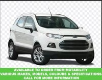 USED 2016 65 FORD ECOSPORT 1.5 ZETEC 5d AUTO 110 BHP This VEHICLE CAN BE ORDERED FROM MOTABILITY