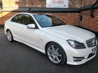 2011 MERCEDES-BENZ C 220 C220 Sport Edition 125 Blue Efficiency £11990.00