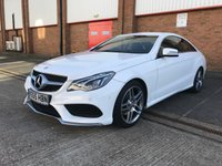 2016 MERCEDES-BENZ E CLASS 2.1 E220 BLUETEC AMG LINE 2d AUTO 174 BHP £SOLD