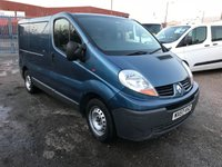 2007 RENAULT TRAFIC 2.0 SL27 DCI 115 SWB 1d 115 BHP £SOLD