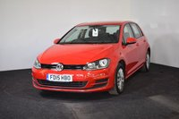 USED 2015 15 VOLKSWAGEN GOLF 1.4 S TSI BLUEMOTION TECHNOLOGY DSG 5d AUTO 120 BHP LOW MILES + FULL AUTO + DAB RADIO