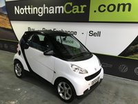 2010 SMART FORTWO 1.0 PULSE MHD 2d AUTO 71 BHP £3095.00