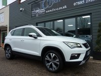 USED 2017 17 SEAT ATECA 1.6 TDI ECOMOTIVE SE TECHNOLOGY 5d 114 BHP