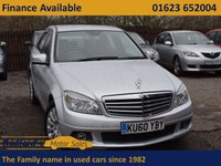 USED 2010 60 MERCEDES-BENZ C CLASS 2.1 C250 CDI BLUEEFFICIENCY ELEGANCE 4d AUTO 204 BHP