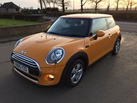2016 MINI HATCH ONE 1.2 ONE 3d 101 BHP £8695.00