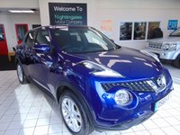 USED 2015 65 NISSAN JUKE 1.5 ACENTA PREMIUM DCI 5d 110 BHP FULL SERVICE HISTORY + DEC MOT + SATELLITE NAVIGATION + BLUETOOTH + DAB RADIO + MULTI MEDIA + ELECTRIC WINDOWS + LOW MILES + £20 ROAD TAX