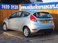 USED 2009 FORD FIESTA 1.4 ZETEC 16V 5d 96 BHP AIR CON, ALLOY WHEELS, FSH