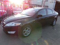 USED 2008 58 FORD MONDEO 2.0 ZETEC TDCI 5d 140 BHP NEW MOT, SERVICE & WARRANTY